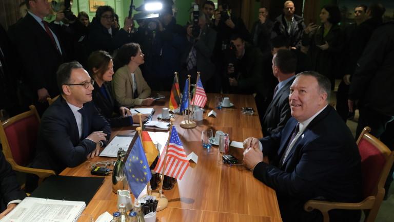 Държавният секретар на САЩ Майк Помпео започна двудневното си посещение