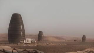 Град на Марс - поглед отвътре