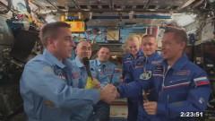 Руско-американски екипаж се върна от Международната космическа станция