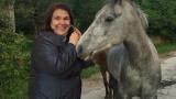 Марта Вачкова посрещна Великден на село