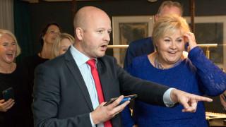Десницата печели мнозинство в парламента на Норвегия