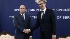 Радев пред Вучич: От години чертаем общия европейски път на България и Сърбия