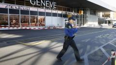 Климатични активисти блокираха частния терминал на летището в Женева