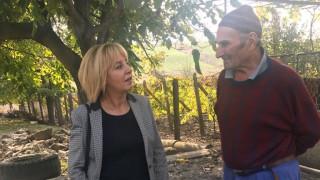 Манолова зове да се опростят сметките за ток на бедстващите в Бургаско