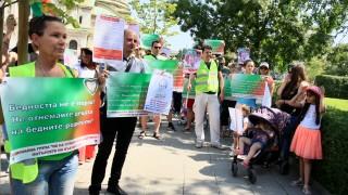 Пореден протест срещу закони за закрилата на детето