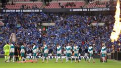 Лестър матира шампиона Манчестър Сити и триумфира в Къмюнити Шийлд