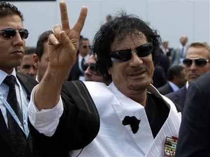 Близо 2 млн. долара за главата на Кадафи