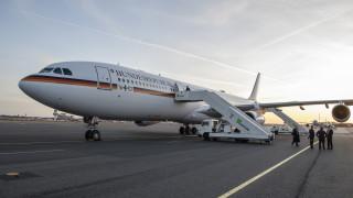 ВВС на Германия: Аварията на самолета на Меркел не е свързана с престъпление