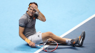 Доминик Тийм на полуфинал в Лондон след обрат над Новак Джокович