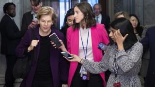 Елизабет Уорън: Аз съм основният конкурент на Тръмп за Белия дом