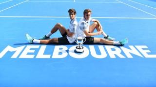 Ербер и Маю триумфираха при двойките на Australian Open