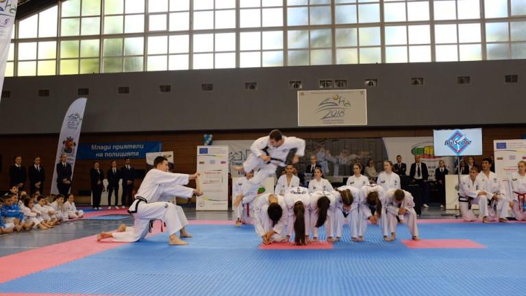 Демонстрации на представителния отбор на Световната федерация по таекуондо (World
