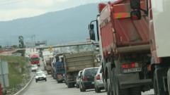 Верижна катастрофа на Околовръстното в София