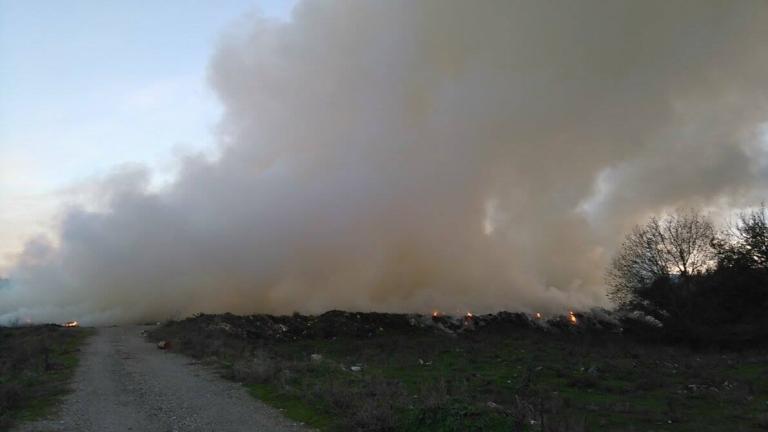 Наказват концесионера на сметището на Шумен заради пожара