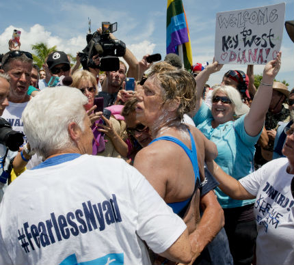 64-годишна американка преплува от Куба до Флорида