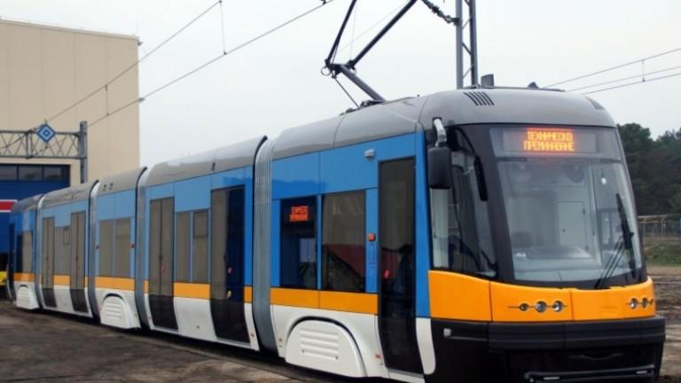 Временно променят маршрутите на три трамвайни линии в столицата