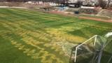Хулигани поругаха стадиона на Левски-Раковски, Пелето с вдъхновяващи думи към децата от школата
