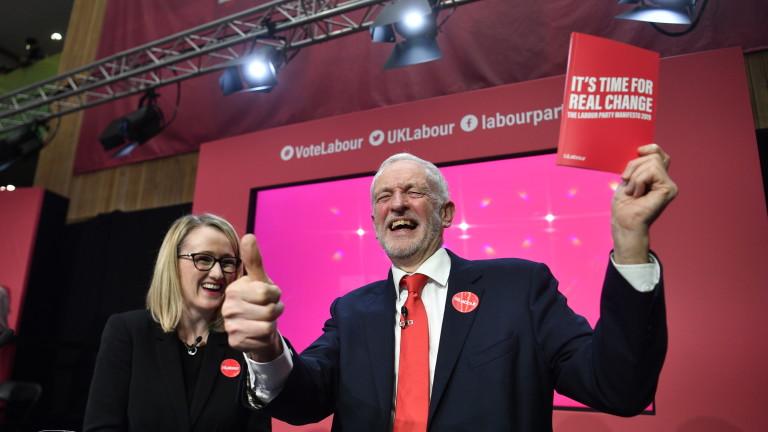"""Корбин с """"радикален и амбициозен"""" социалистически план за Великобритания"""