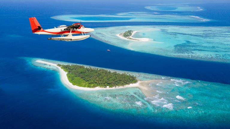 Частен остров с площ близо 49 000 кв. м край