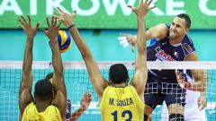 Бразилия и Полша започнаха с победи във финалите на световната лига