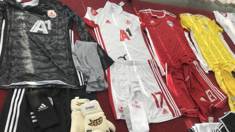 ЦСКА ще излезе в изцяло бял екип в реванша срещу