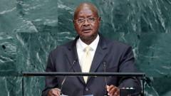 Бой в парламента на Уганда