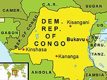 Самолет се разби в източно Конго, причинявайки смъртта на 12 души