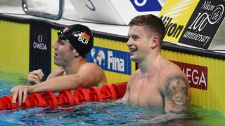 Адам Пийти и Катинка Хошу бяха избрани за най-добри плувци на Европа