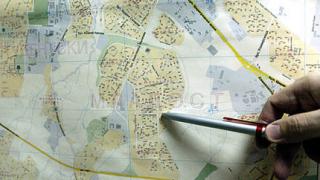 Огромен интерес към кадастралната карта на гр. Гоце Делчев