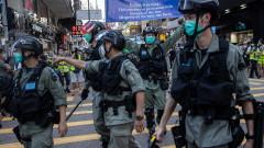 Повече от 50 арестувани на протест в Хонконг