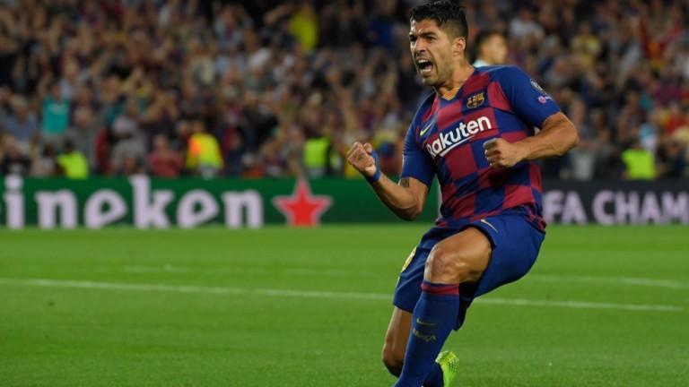 Барселона - Интер 2:1, втори гол на Суарес!