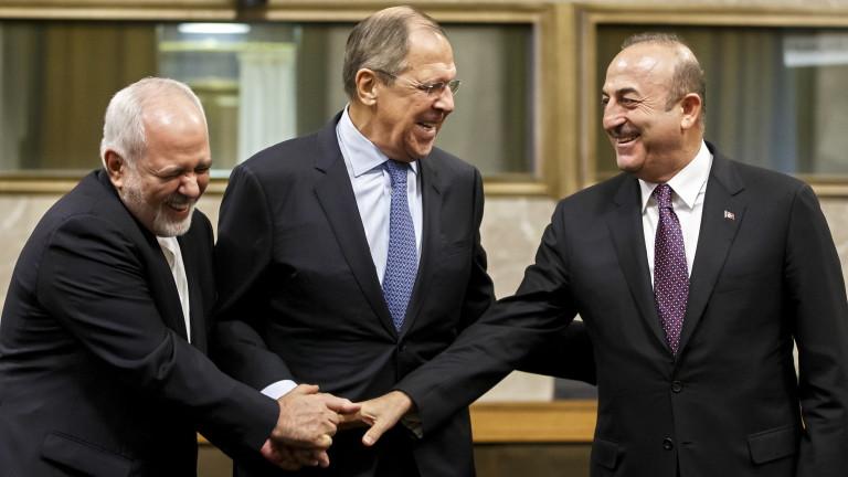 Русия, Иран и Турция постигнаха споразумение за сирийската конституционна комисия,