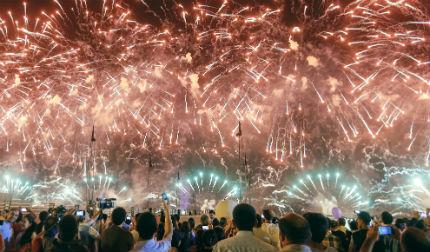 Откриха Европейските игри в Баку с пищна церемония