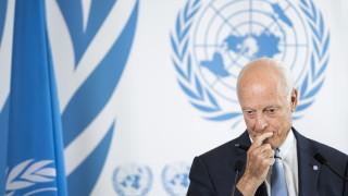 ООН вижда момента на истината за политическия процес в Сирия