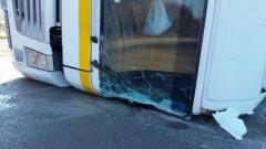 Тир се вряза в автобус на пътя Видин - Монтана