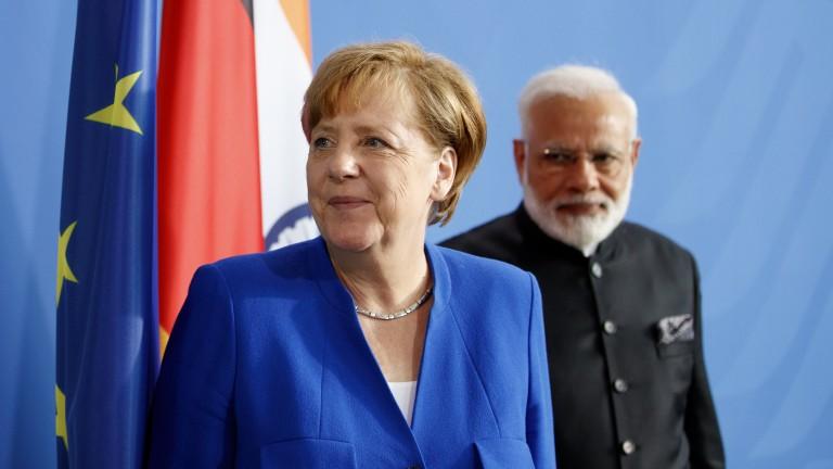 Меркел настоя Европа да стане по-сериозен геополитически играч