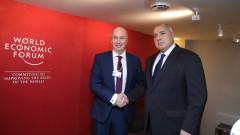 Борисов обсъди развитието на газовите проекти с Андрю Браун