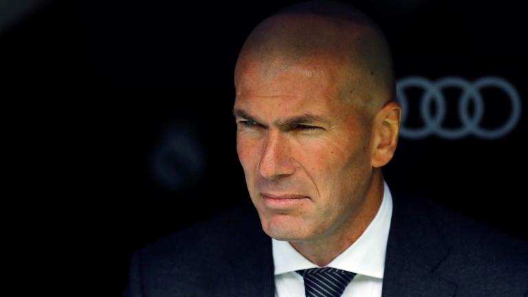 Зидан: Сезонът на Реал ще бъде добър, убеден съм