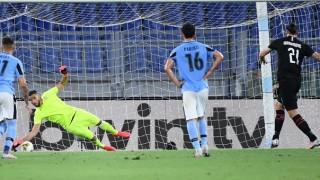 """Милан направи """"невъзможното"""", шокира Лацио и удари мощно рамо на Юве в борбата за титлата"""