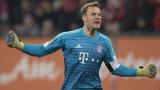 Байерн (Мюнхен) победи Аугсбург с 3:2 като гост