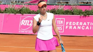 "Виктория Томова влезе като ""щастлива губеща"" в Белград"