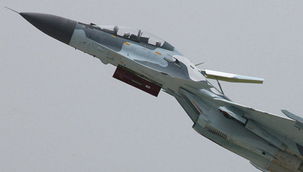 Руските ВВС с нови 30 изтребителя Су-30СМ до 2016