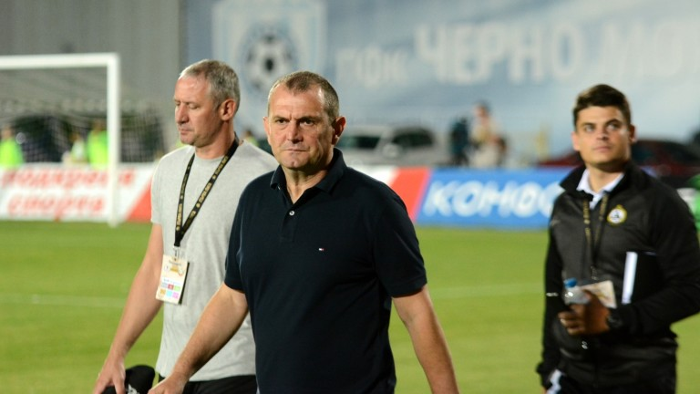Старши треньорът на Славия - Златомир Загорчич, се надява неговият