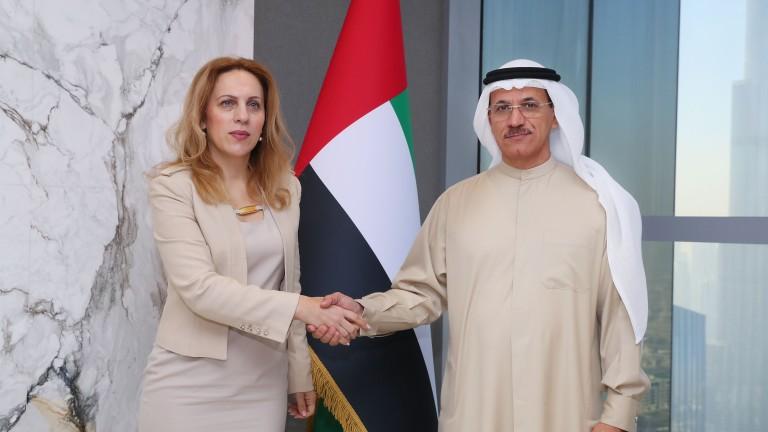 Подписваме меморандум за подкрепа на малкия и среден бизнес с ОАЕ