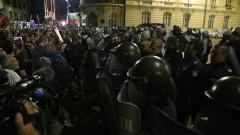 Ден 76: Напрежение между протестиращи и полиция