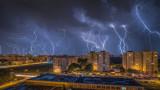 Над 10 000 мълнии в Гърция за 3 дни