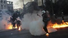 Многохилядна акция в Атина срещу закон, ограничаващ протестите