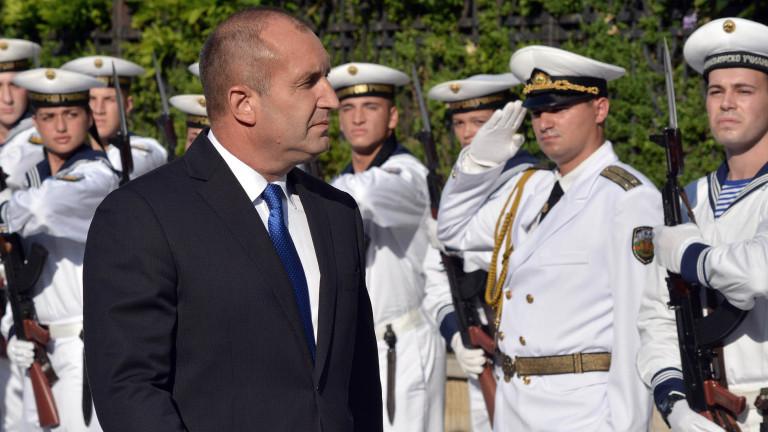 Радев: Военноморските ни сили издигат авторитета на страната