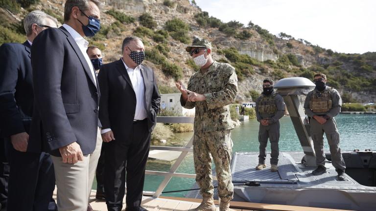 САЩ с опит да помирят Гърция и Турция
