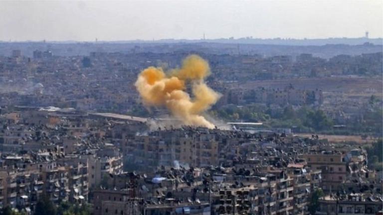 В понеделник вечер ислямисти откриха огън с ракетни системи по